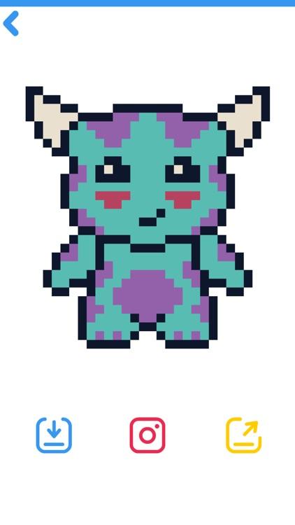 Pixel Art Mania - Coloring screenshot-3