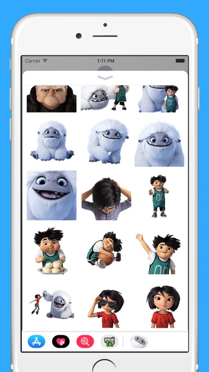 Abominable Movie Stickers screenshot-3