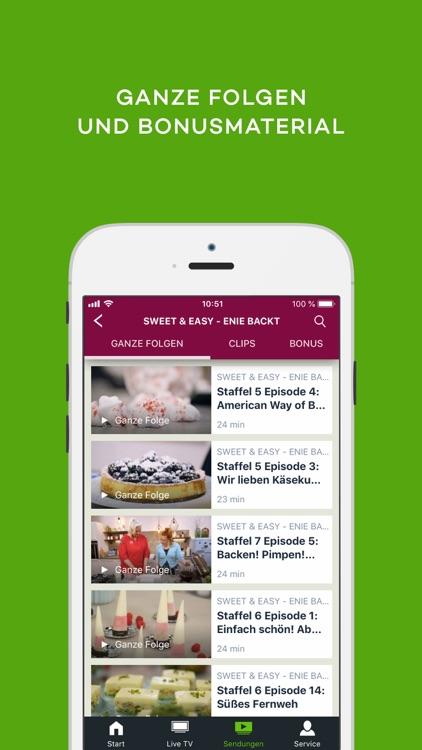 sixx – Live TV und Mediathek screenshot-3