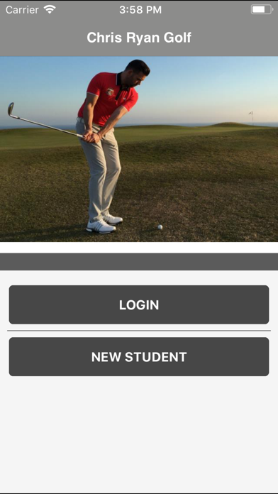Chris Ryan Golf screenshot two