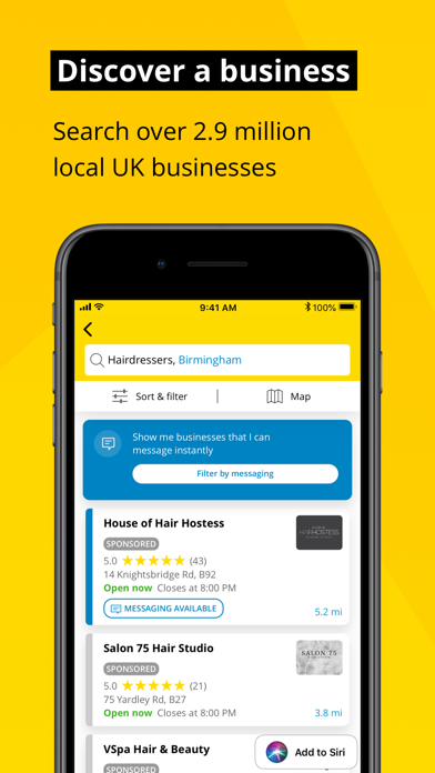 Yell – Find Local Businesses screenshot three