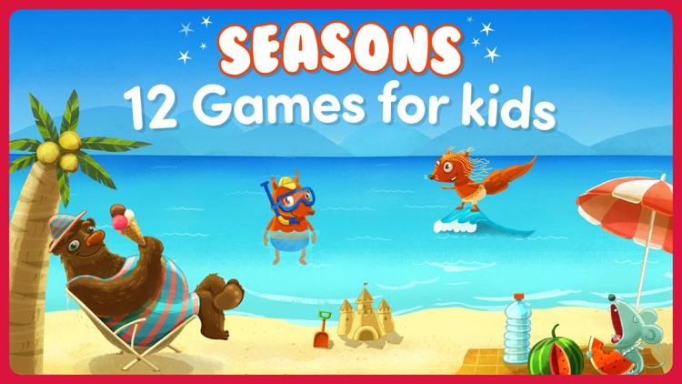 Seasons: Toddler games - Full by TOYA TAP: PRESCHOOL AND ...