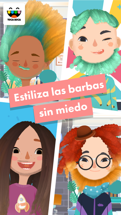 Screenshot for Toca Hair Salon 3 in Chile App Store