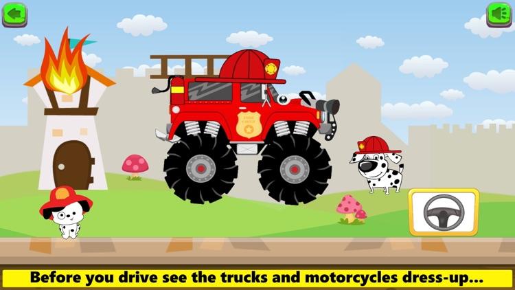 Monster Trucks Game Kids FULL screenshot-3