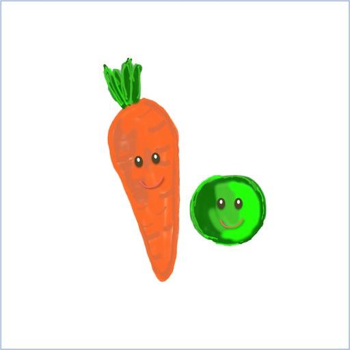 peas & carrots, carrots & peas