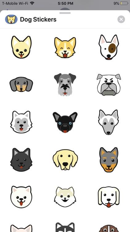 Dog Clicker Stickers