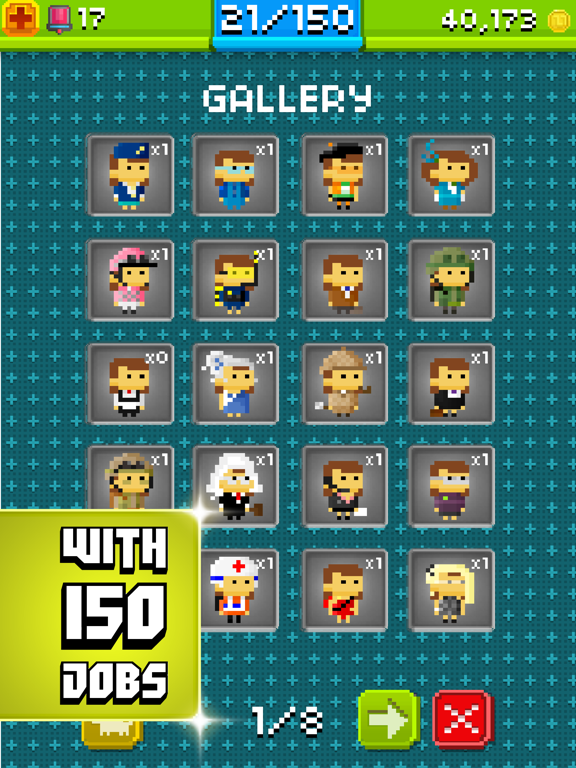 iPad Image of Pixel People