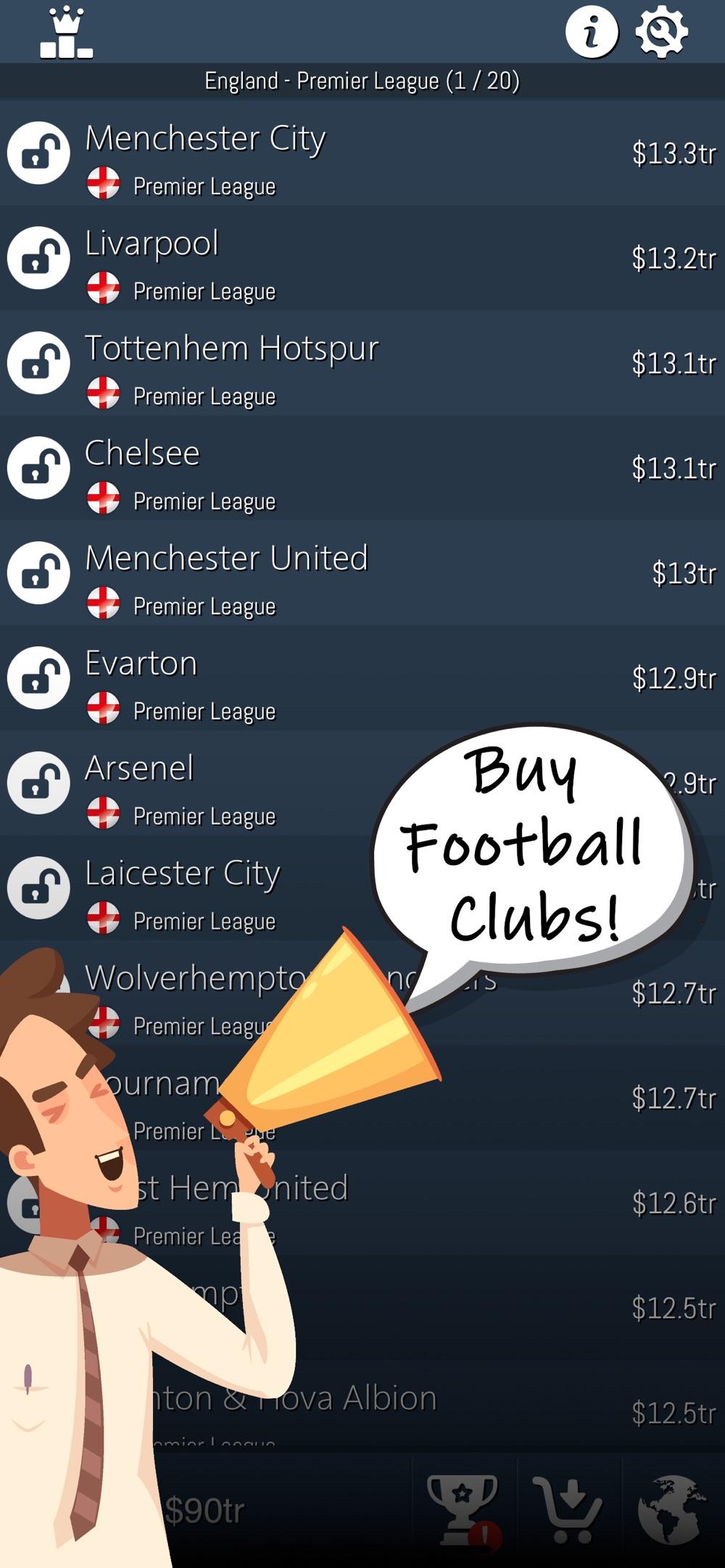 Idle Football Tycoon