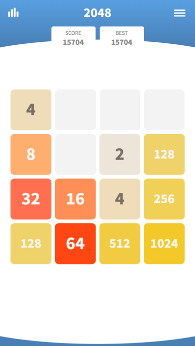 2048 the classic swipe game. Join the numbers and get to the 2048 tile! If you like swipe and puzzle games, you will love 2048! 2048 works great in offline ...