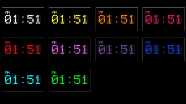 Digital LED Clock screenshot-3