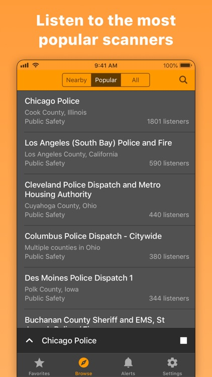 Scanner Radio: Police & Fire screenshot-6