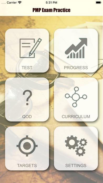 PMP Revision Aid screenshot 1