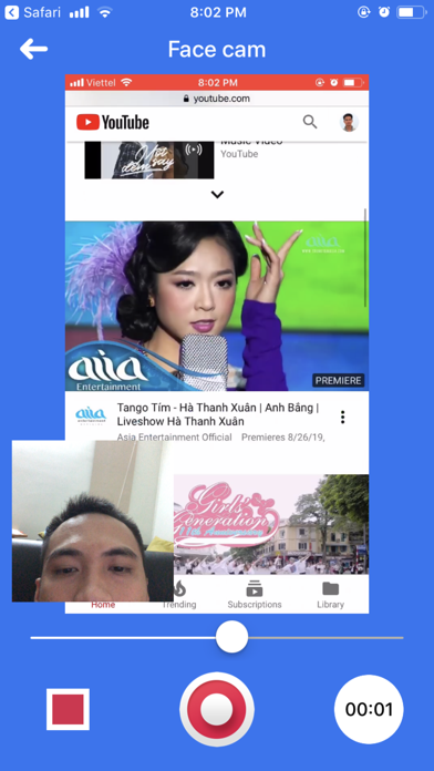 Screen Recorder Z - Livestream screenshot 3