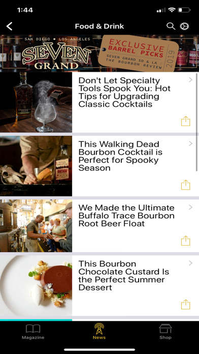 The Bourbon Review Screenshot
