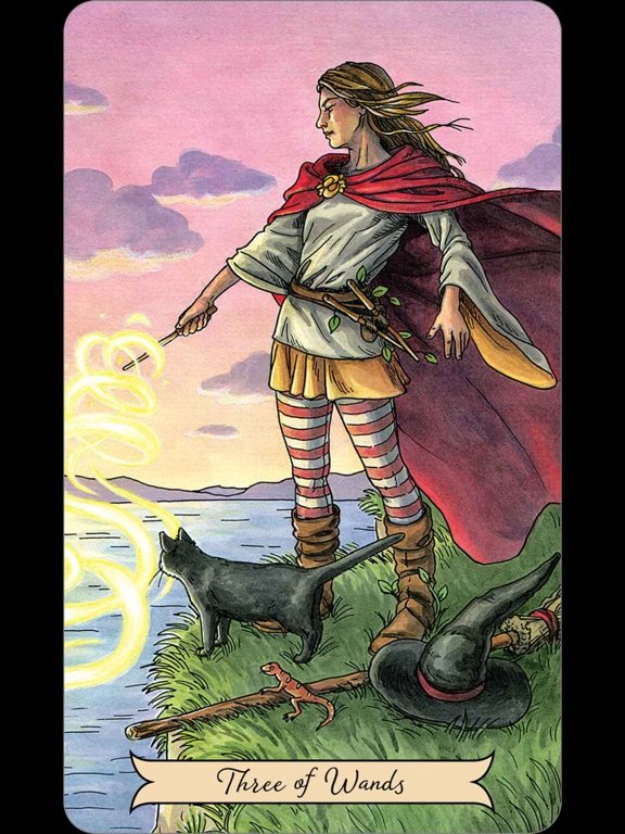 Everyday Witch Tarot-ipad-1