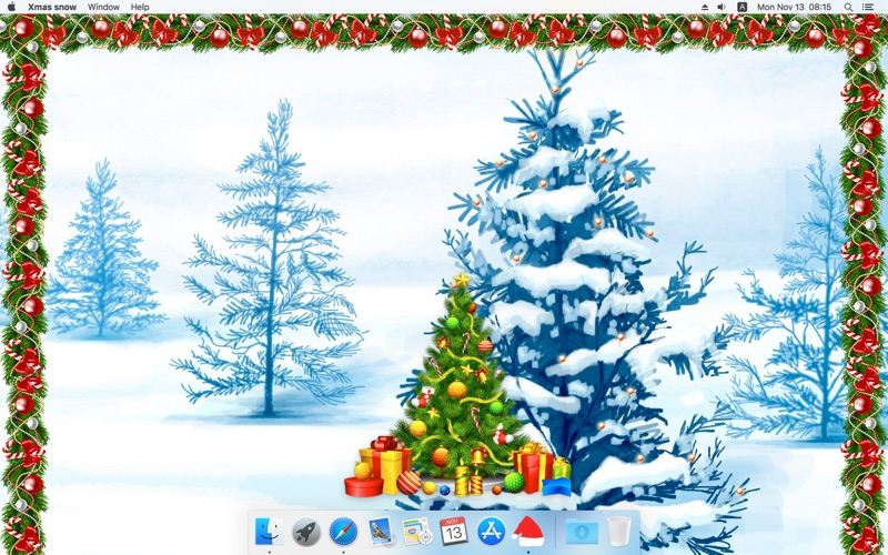 圣诞雪 (Xmas snow)