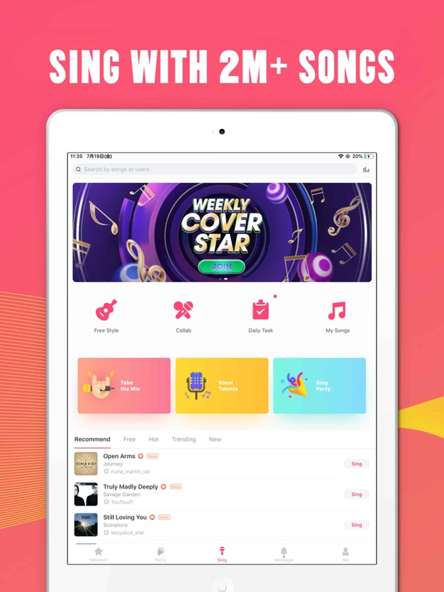 StarMaker-Sing Karaoke Songs on the App Store