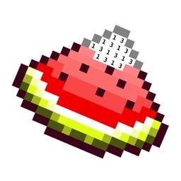 PixelBook: pixel art by number