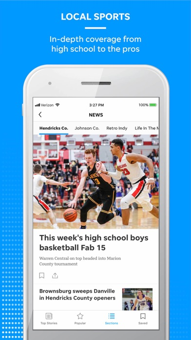 Reno Gazette Journal Screenshot on iOS