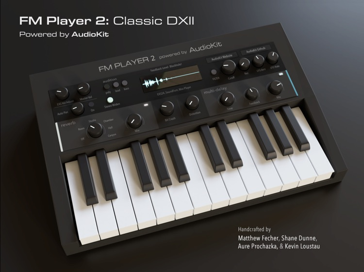 AudioKit FM Player 2: DX Synth screenshot-4