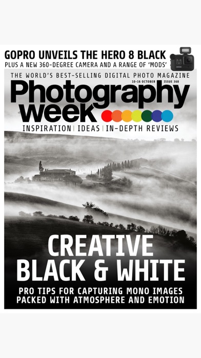 Photography Week review screenshots