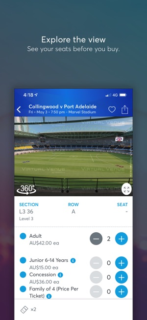 Ticketmaster AU on the App Store