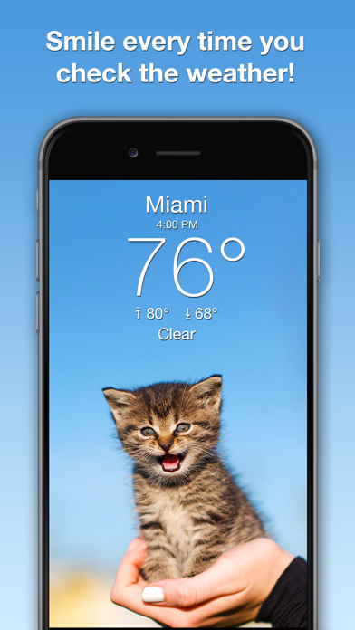 Weather Kitty: Weather + Radar Screenshot