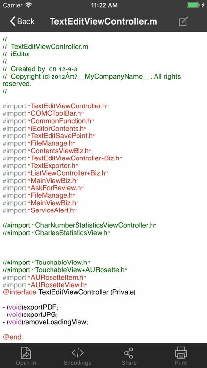 iEditor – Text Code Editor screenshot-4