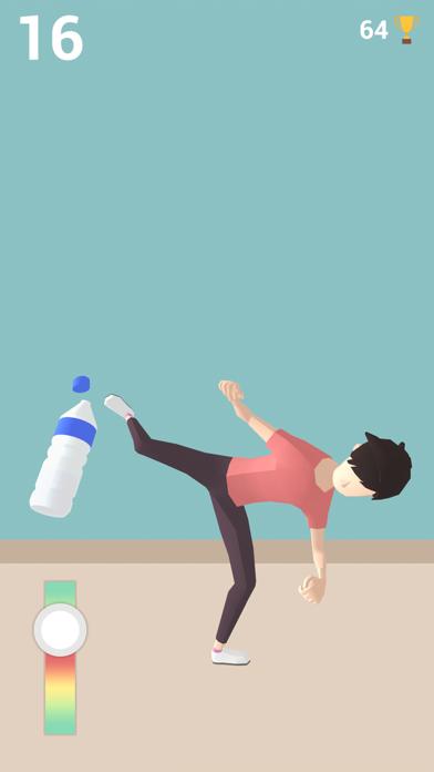 Bottle Cap Challenge Game 3D