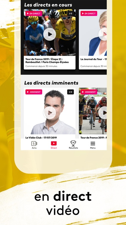 France tv sport : Le Tour 2019
