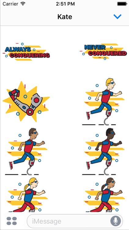Achilles Marathon Sticker Pack