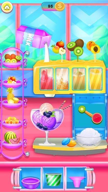 Rainbow Ice cream Popsicle screenshot-3