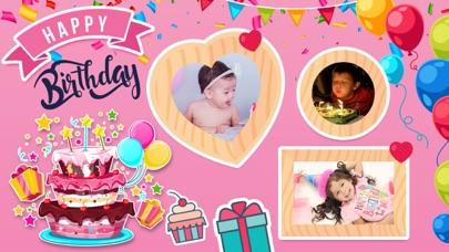Birthday Wishes - Cards, Frame screenshot one
