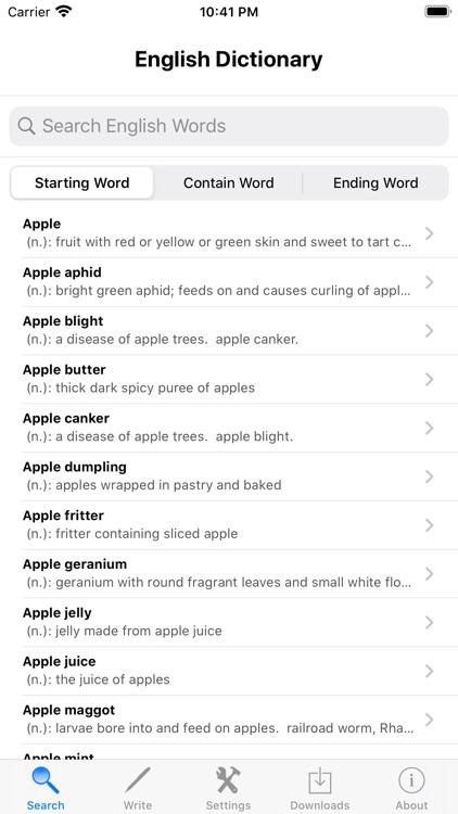 English Audio Dictionary