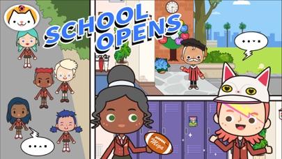 Screenshot for Miga Town: My School in New Zealand App Store