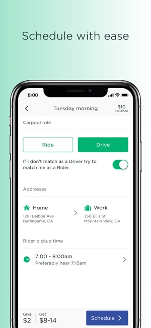 Scoop - Carpool w/ Co-Workers on the App Store