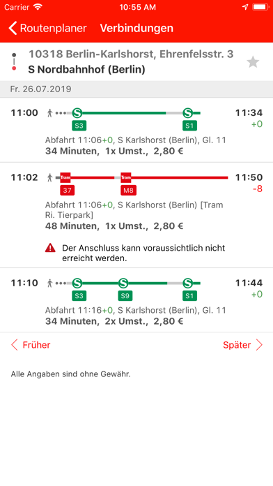 Bahn App Windows 10