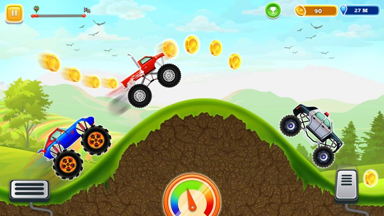 Monster Truck Climb Rush screenshot-0