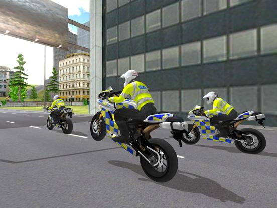 Police Motorbike Simulator 3Dのおすすめ画像2