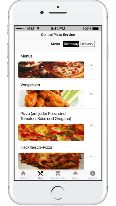 Central Pizza ServiceScreenshot von 2