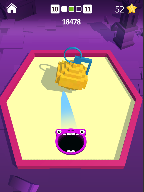 Shooting Hole - Collect Cubes screenshot 5