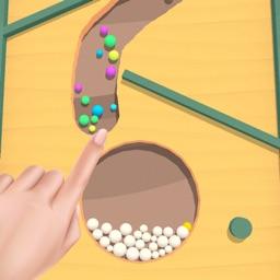 Sand Balls : Dig it! 3D Split
