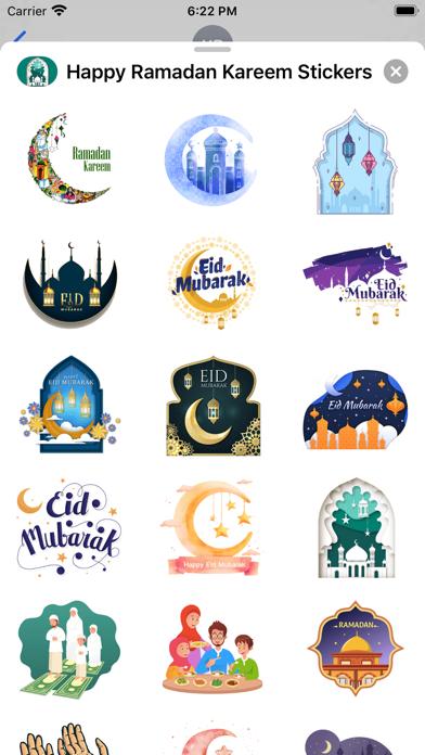 Happy Ramadan Kareem Stickers screenshot 2