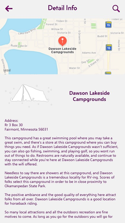 Minnesota Campgrounds Guide screenshot-2