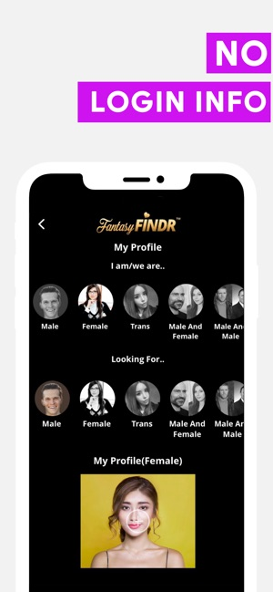 Fantasy FINDR: Find Local Love Screenshot