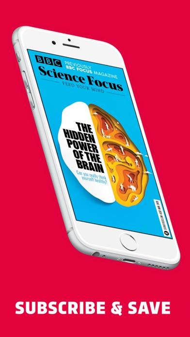 BBC Science Focus Magazine Screenshot