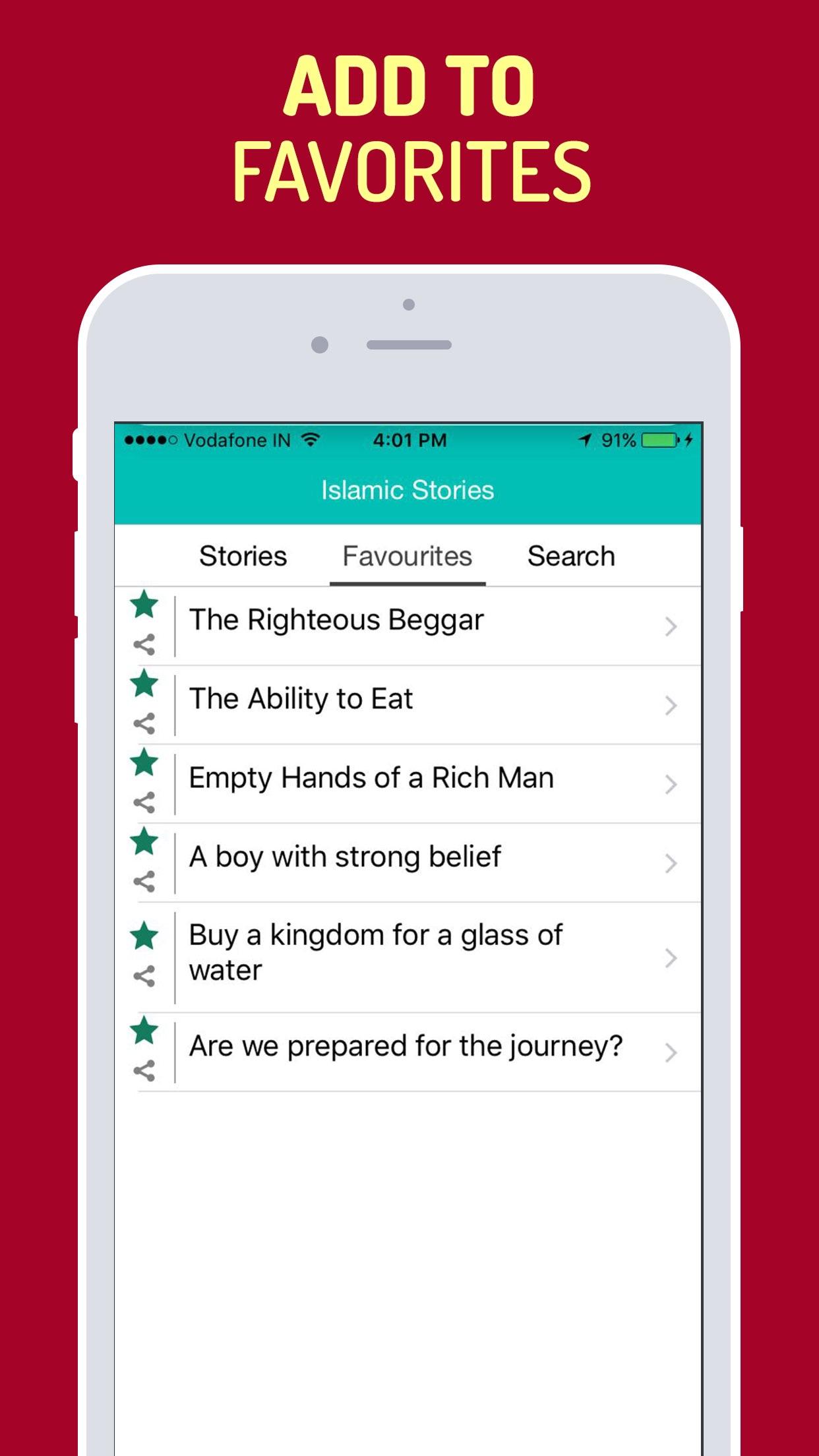 Islamic Stories for Muslims Screenshot