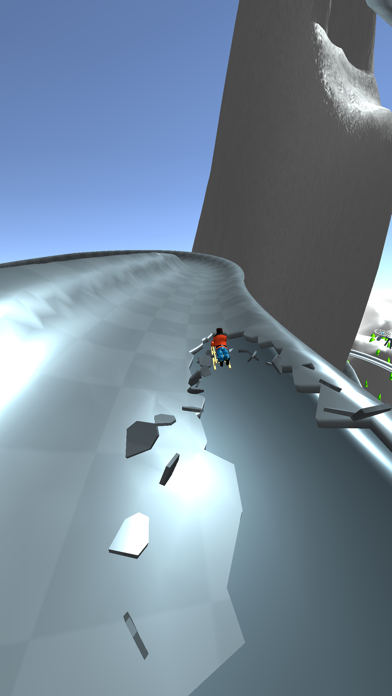 Snow Race! screenshot 1
