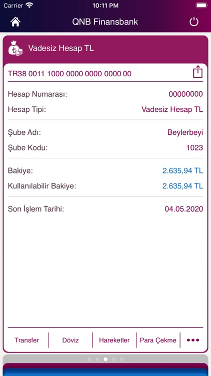 QNB Finansbank Mobile Banking screenshot-3