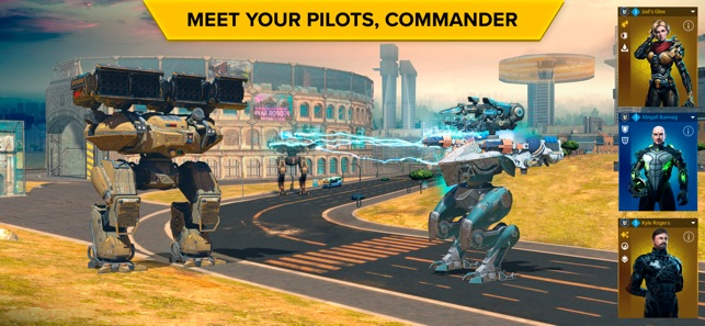 War Robots Multiplayer Battles on the App Store